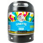 Buy - Ginette Natural White Bio 5° - PerfectDraft 6L Keg - KEGS 6L
