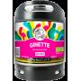 Buy - Ginette Natural Fruit Bio 4° - PerfectDraft 6L Keg - KEGS 6L